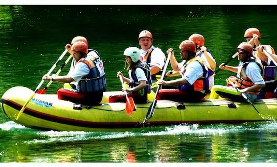 Rafting In Vas, Slovenia