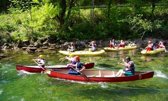 Canoe Rental In Potok, Slovenia