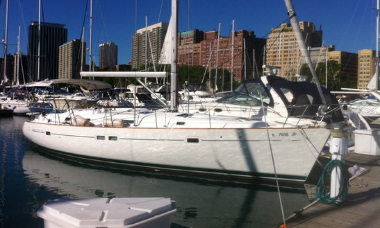 Charter 42ft Beneteau  Cruising Monohull In Chicago, Illinois