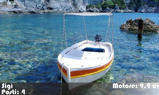 Boat Rental In Italy - Barche Sigi - Le Forna Ponza