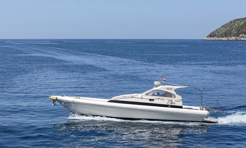 Hire a Lomac Airone Rigid Inflatable Boat for 12 People in Split, Croatia