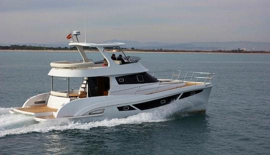 Power Catamaran Rental In Eivissa, Ibiza