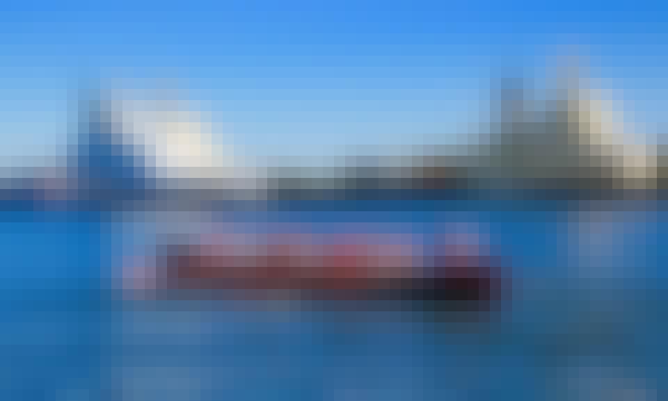 Sightseeing on a 39' Row Boat in Helsinki, Finland