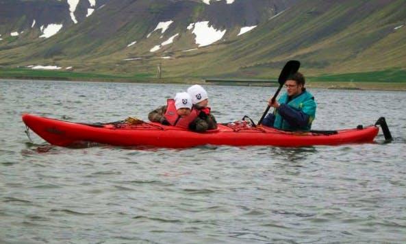Enjoy a Double Kayak Tour in Flateyri, Iceland