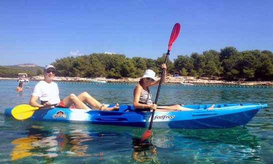 Double Kayak Rental In Hvar, Croatia