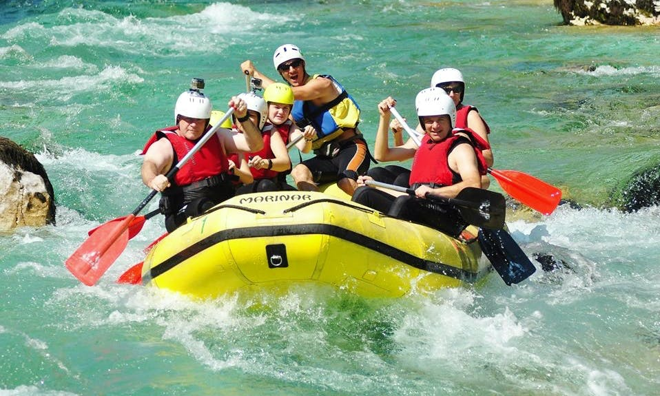 Rafting Tour in Bovec, Slovenia