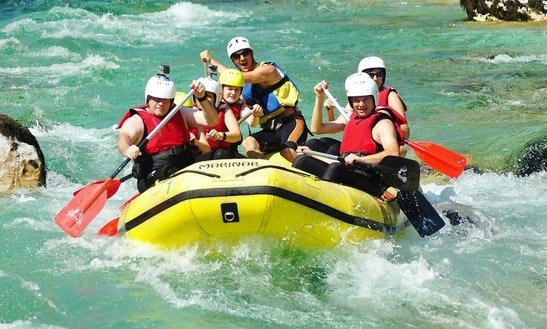 Rafting Tour In Bovec Slovenia