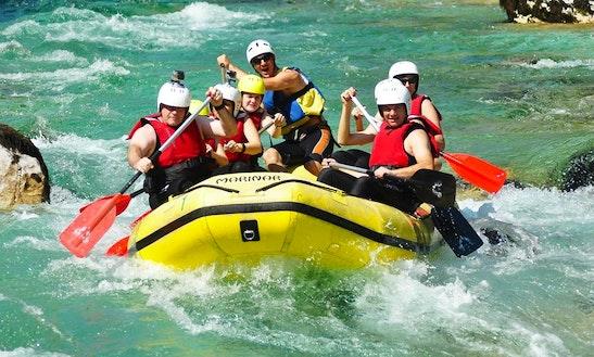 Rafting Tour In Bovec Slovenia