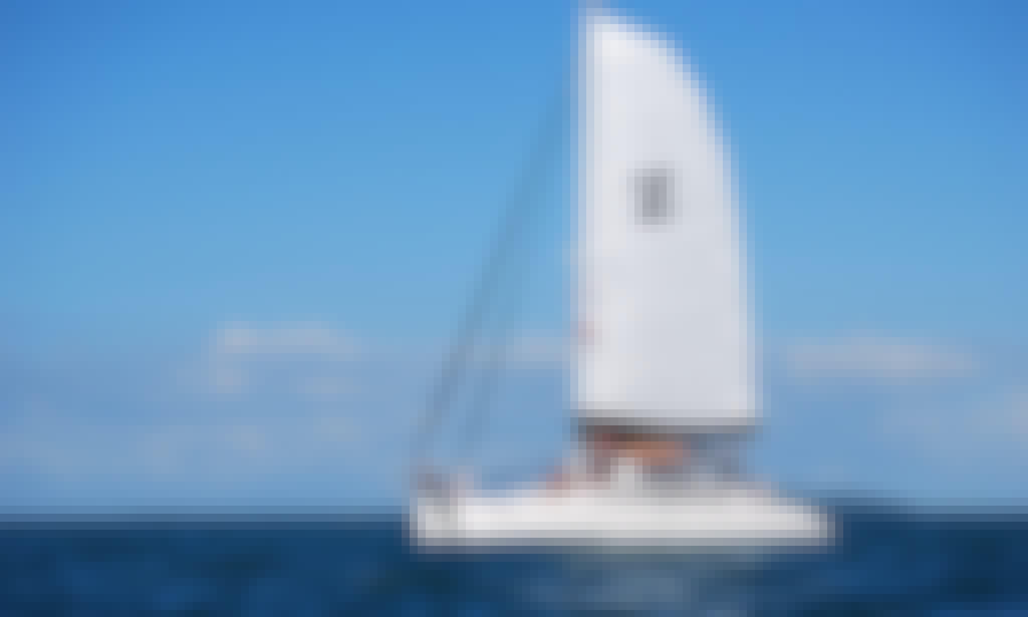 9 passengers Luxury Sailing Catamaran Charter in Fajardo, Puerto Rico