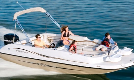 Rent 21ft Deck Boat In Ruskin, Florida