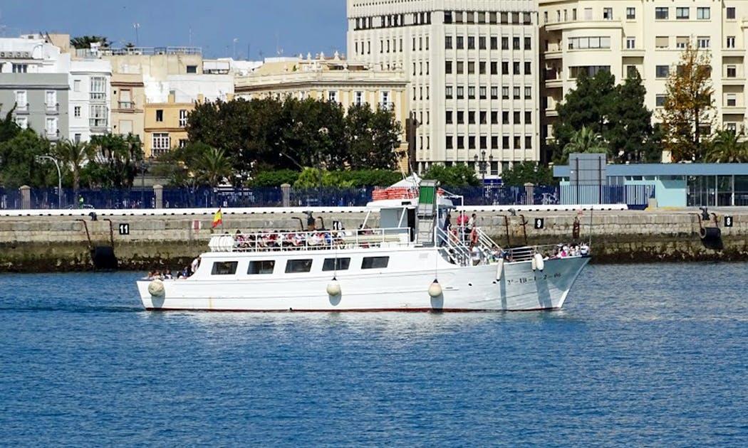 """""""La Pepa Cádiz"""" Passenger Boat Charter in Cádiz"""