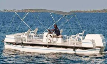 Skimmer Power Boat Fishing Trips in Siavonga