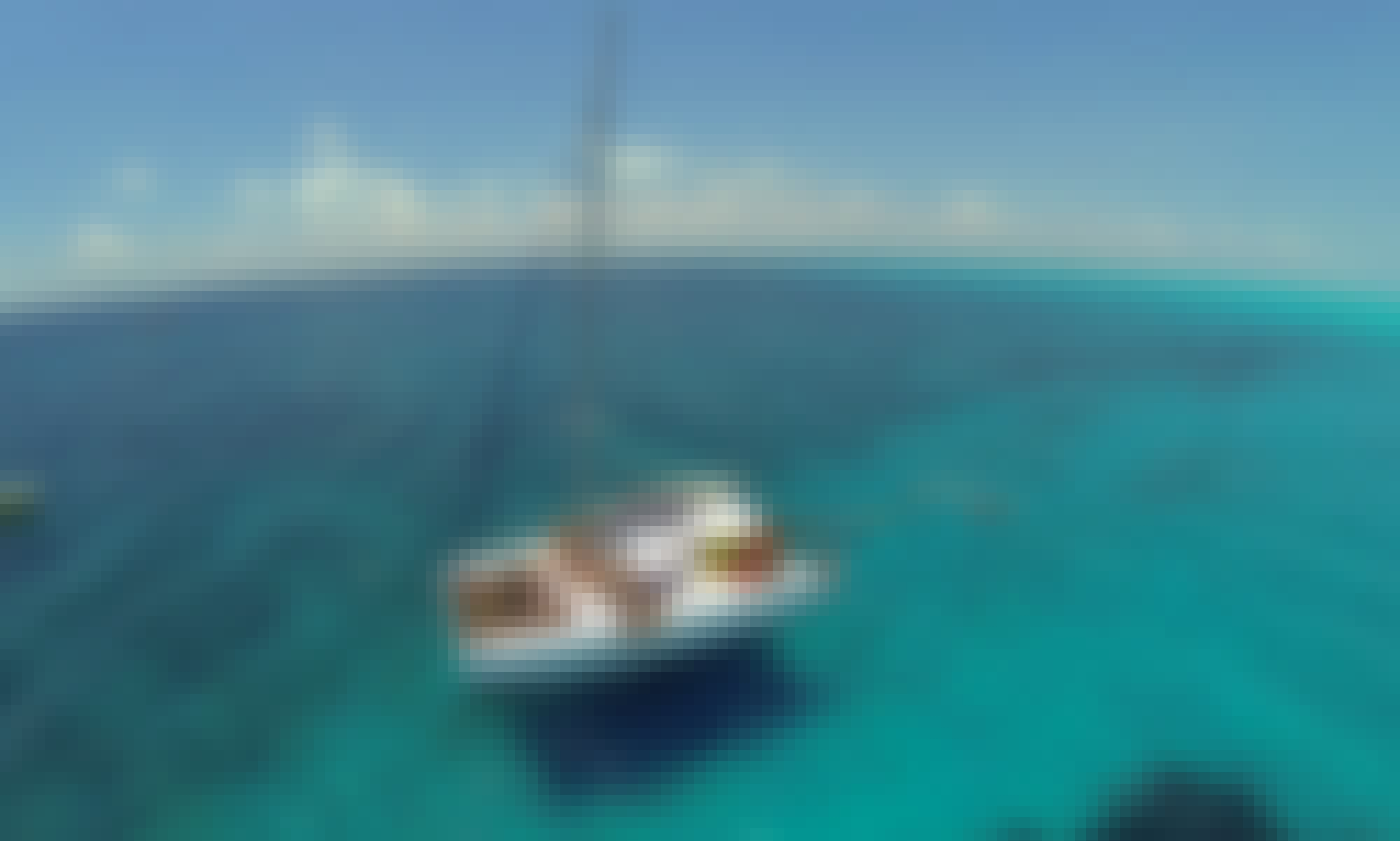 43 ft Cruising Catamaran Charter in Cancún, Quintana Roo
