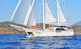 """87' Gulet """"G0009 """" Charter in İzmir, Turkey"""
