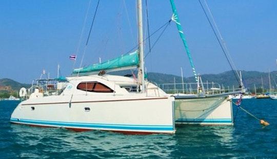 """""""twin Keel"""" Sailing Catamaran Yacht Charter In Tambon Karon"""