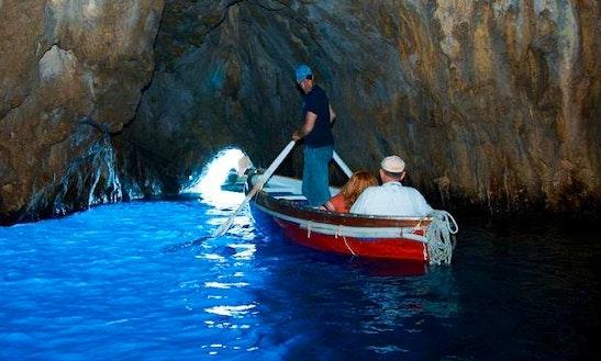 Blue Grotto Boat Tour In Capri