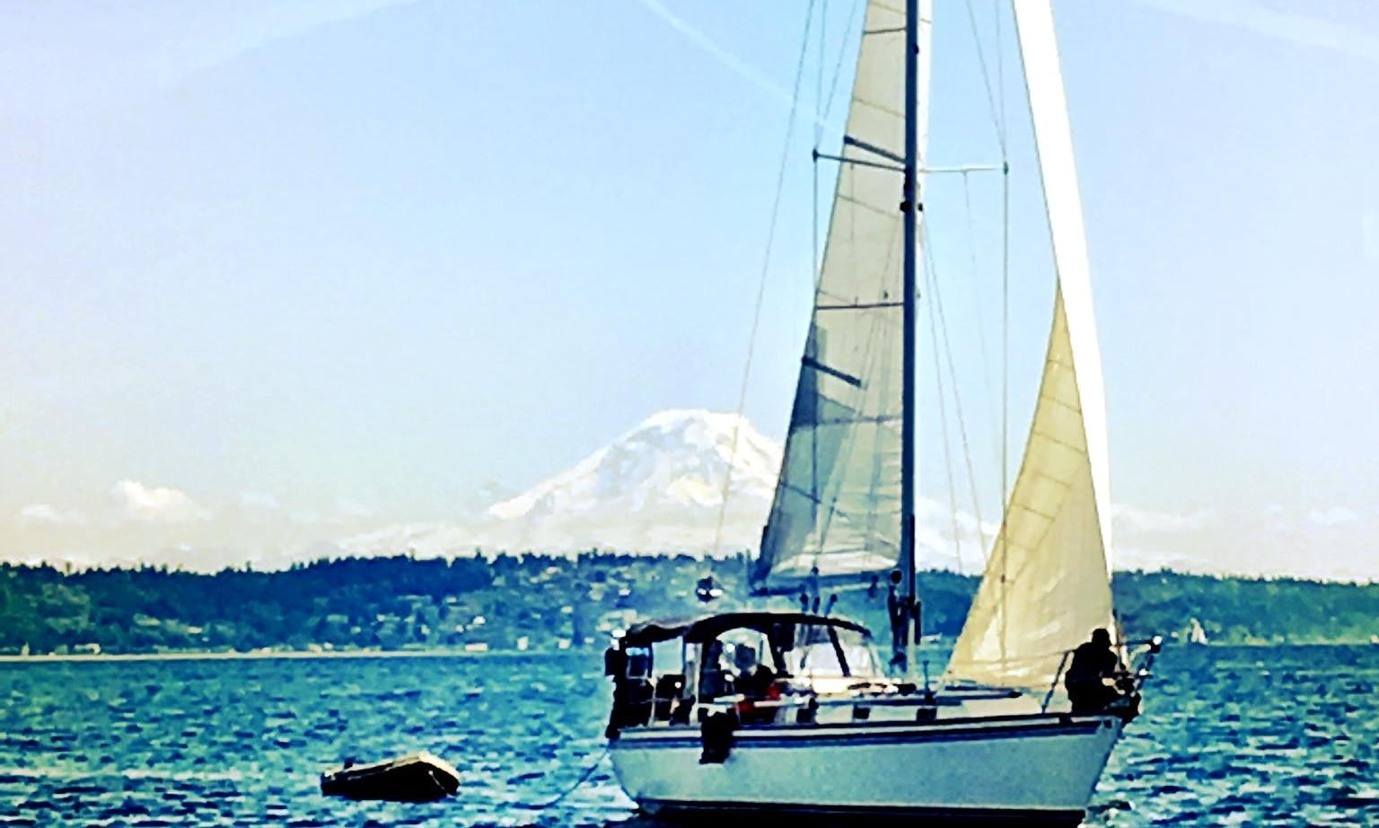 "36ft ""The Endeavor"" Sloop Boat Rental in Seattle, Washington"