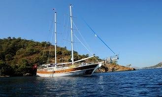 "121' Sailing Gulet "" Prenses Selin"" Charter in Izmir, Turkey"
