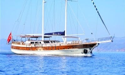 "98' Sailing Gulet "" Queen Lila"" Charter in Izmir, Turkey"