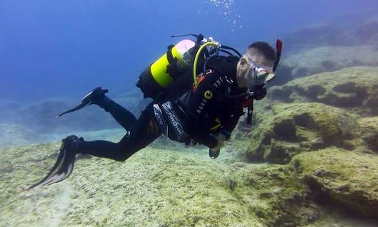 Unique Diving Trip Experience & Scuba Diving Courses In Paralimni, Cyprus
