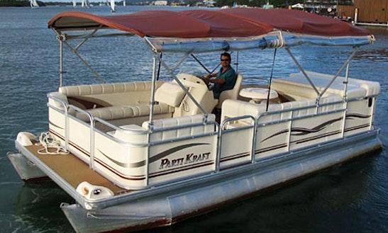 Captained Deluxe Partikraft Pontoon Hire In Noosaville, Queensland, Australia