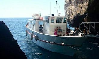 """""""M / N Nike"""" Motorboat Trips in Alghero"""