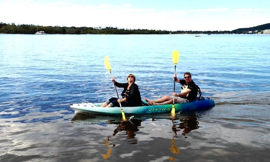 High-performance Double Kayak For Hire In Noosaville, Queensland