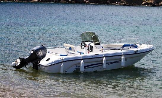 Ranieri 17 Boat Rental In Campo, Italy