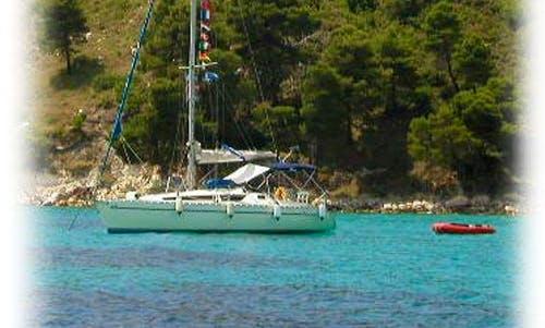 """Kiknos"" Sailing Yacht Charter in neos marmaras Halkidiki"