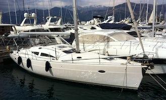 Elan 434 Cruising Monohull Charter for Up to 10 Poeple in Bar, Montenegro
