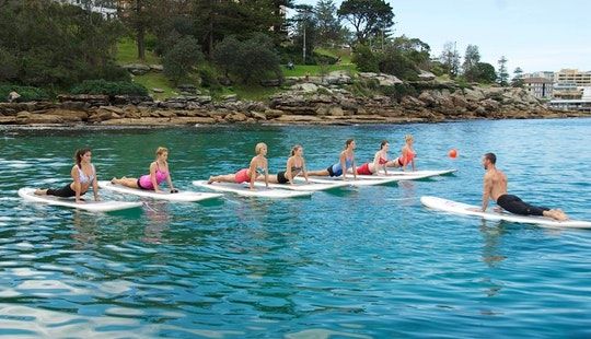 Sup Yoga In Manly Australia