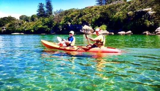 Kayak Yoga In Manly Harbour