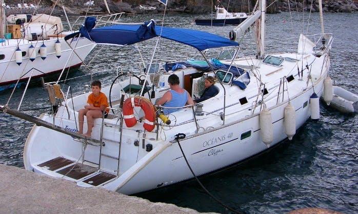 42' Cruising Monohull Charter Rome Lazio, Italy