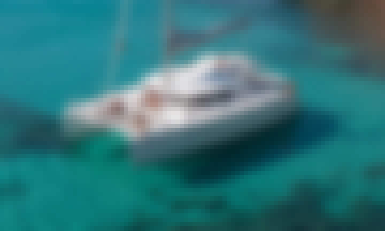 Lagoon 400 Cruising Catamaran Rental in Chalkidiki, Greece