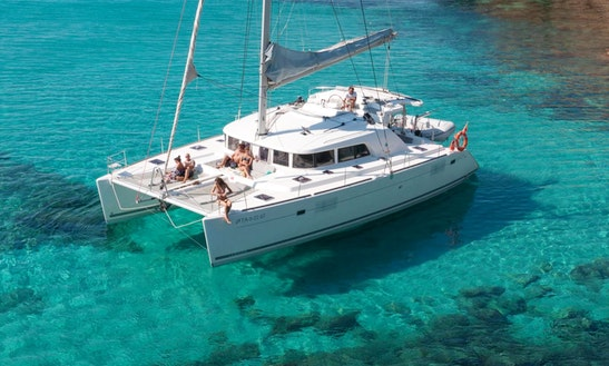 Cruising Catamaran Rental In Chalkidiki