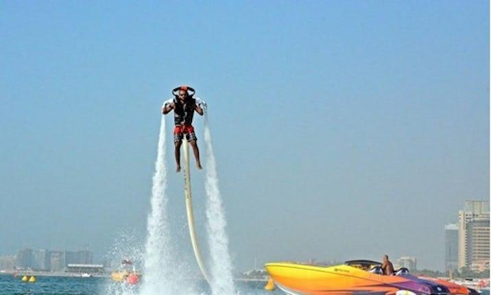 Jetpack Ride in Dubai, UAE | GetMyBoat