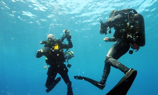 Technical Diving Lessons In Indonesia