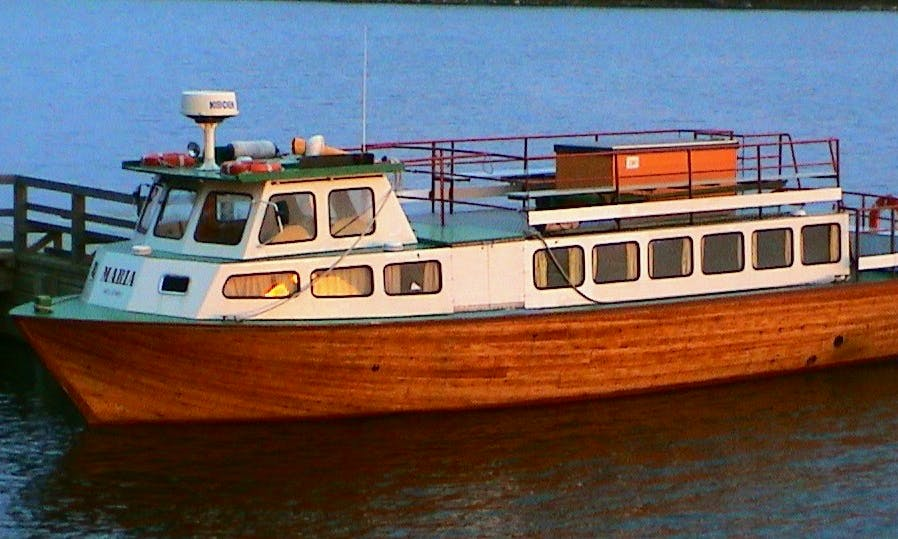 "Charter the ""M / S  Maria"" Boat in Helsinki"