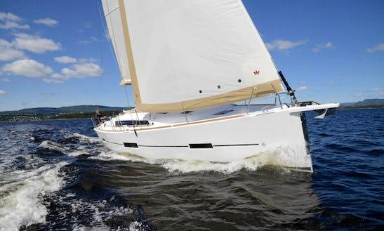 41ft Dufour Daysailer Boat Sleep Aboard Rental In Barcelona, Spain