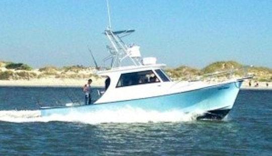 35ft Fiberglass Dive Boat