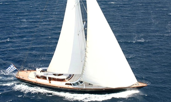 Sailing Mega Yacht Charter In Athens Greece