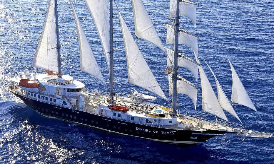 Wind Jammer rental in Athens Greece