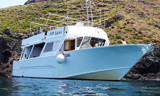 'lady Salina' Cruising In Santa Marina Salina