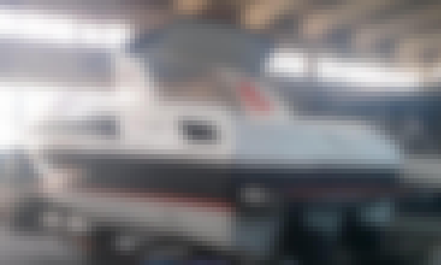 """Off Course Adrenalin 38' Off Shore"" Motor Charter in Orbetello"