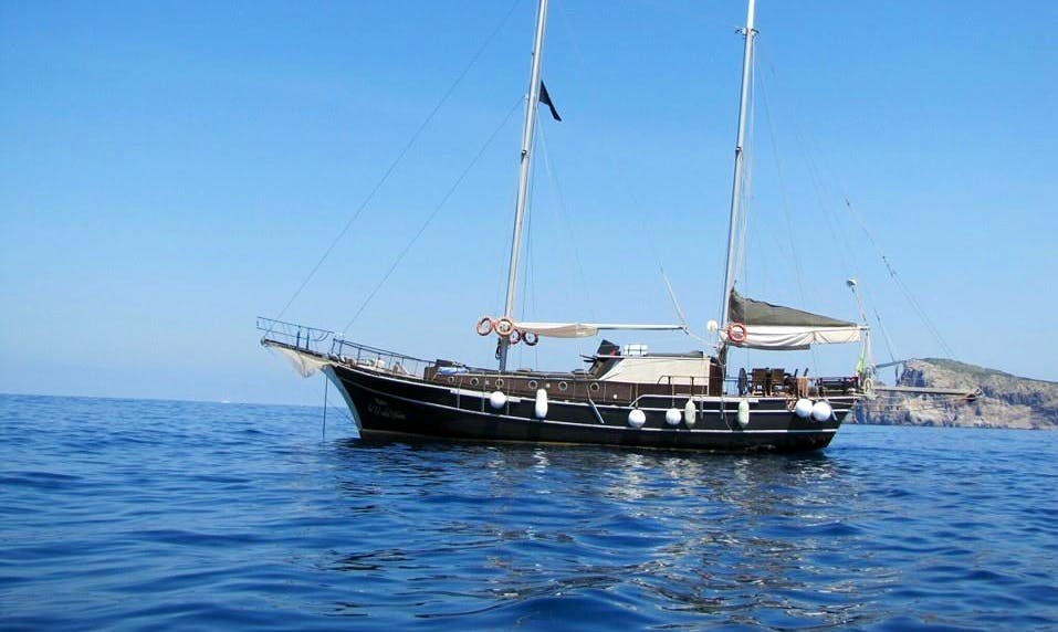 """""""Laila"""" Gulet Day Cruise in Barcelona"""