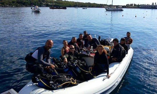 Diving Tour In Lipari Italy