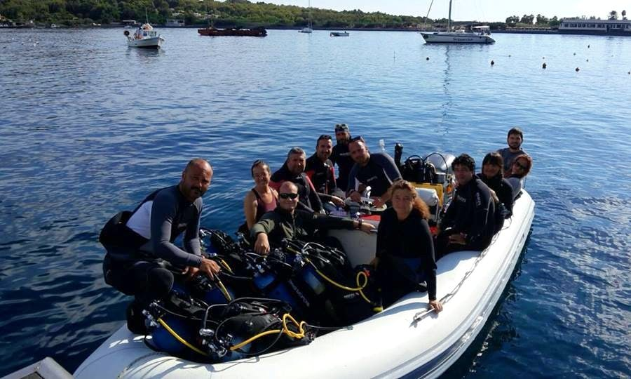 Diving Tour in Lipari Italy