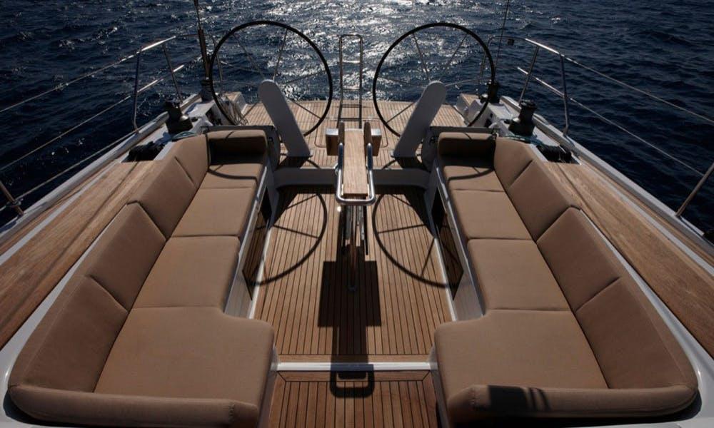 Charter Hanse 545e Sailing Yacht in Procida, Italy