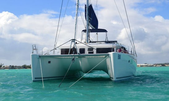 Charter A 44' Lagoon Sailing Catamaran For 8 Person In Procida, Italy