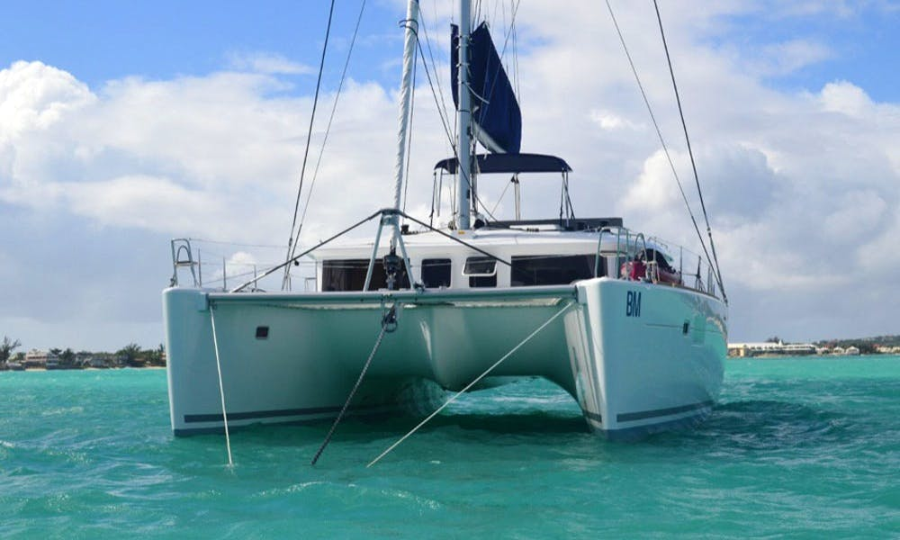 Charter a 44' Lagoon Sailing Catamaran for 8 Person in Procida, Italy